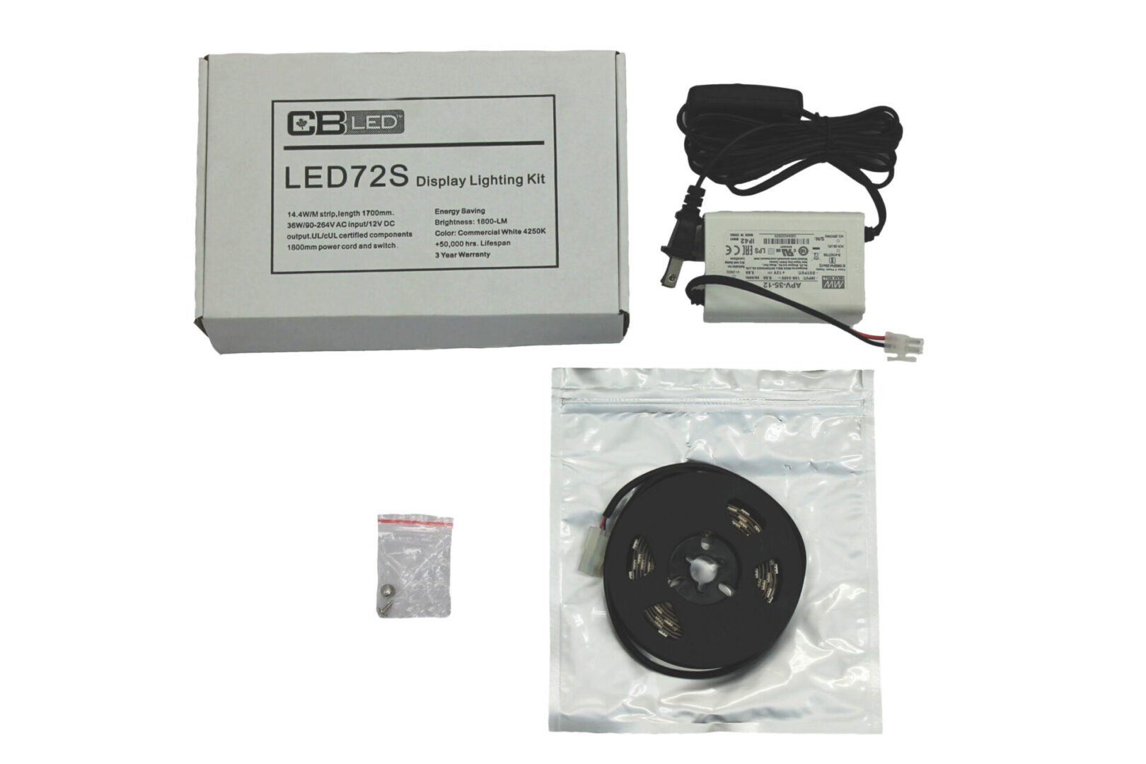 LED72S Display Lighting Kit